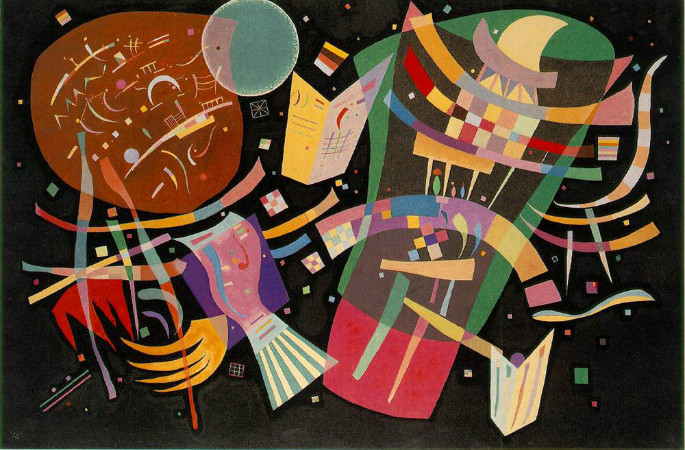 Wassily Kandinsky - Composition X