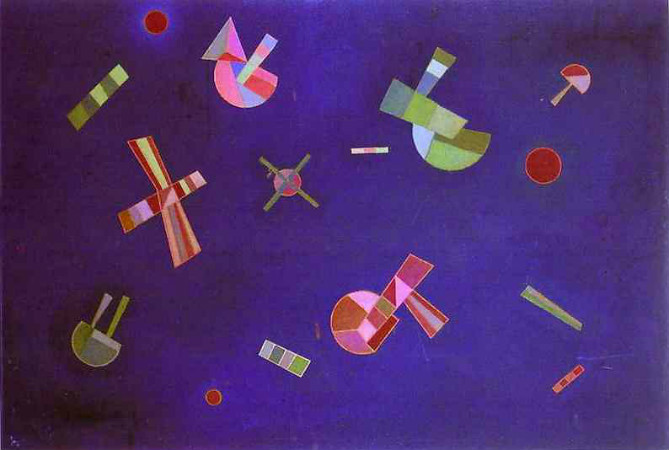 Wassily Kandinsky - Fixed Flight
