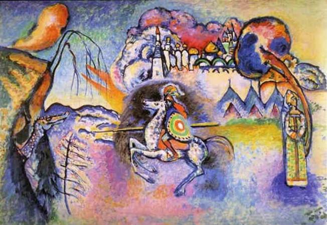 Wassily Kandinsky - Rider St. George