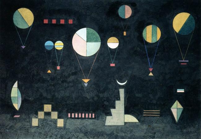 Wassily Kandinsky - Shallow Deep