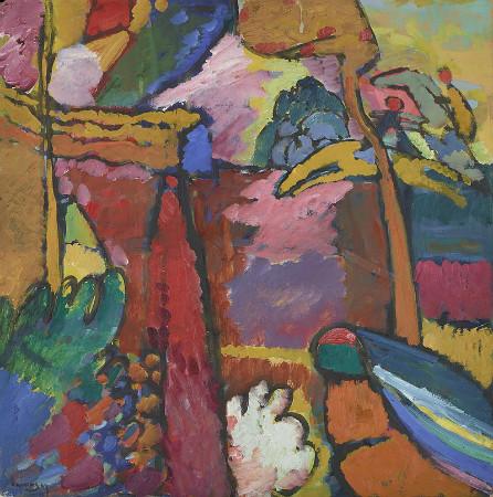 Wassily Kandinsky - Study for improvisation V