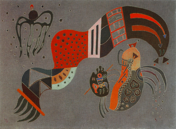 Wassily Kandinsky - Tempered Elan