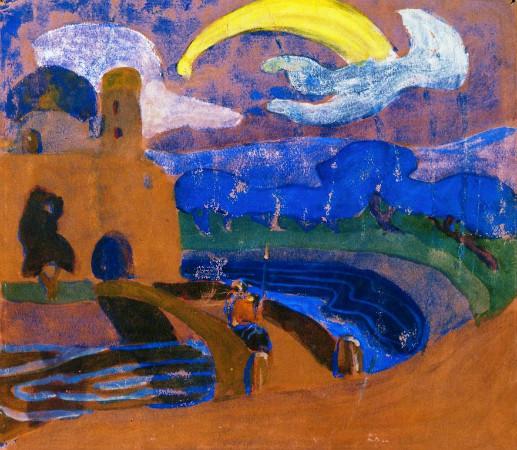Wassily Kandinsky - The Comet