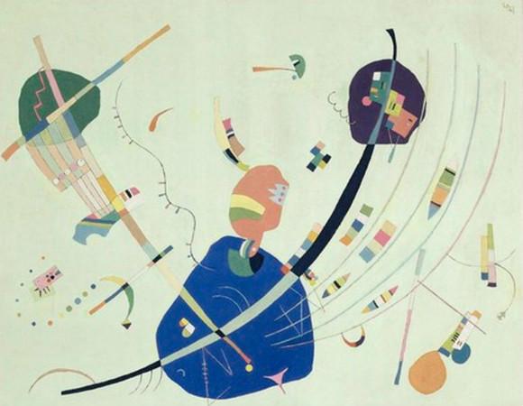 Wassily Kandinsky - Vers le bleu