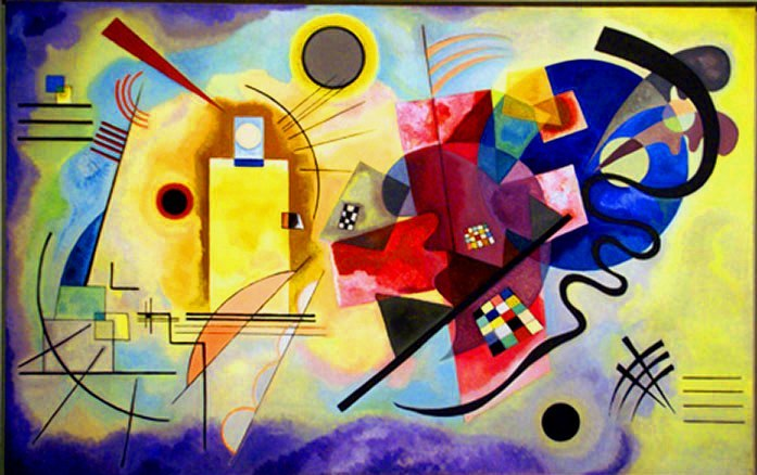 Wassily Kandinsky - Yellow Red Blue