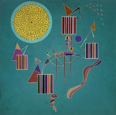 Wassily Kandinsky - intime message