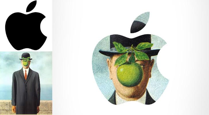 apple rene magritte