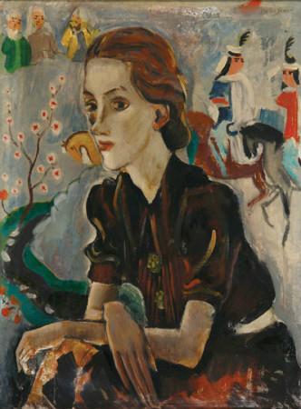 bedri rahmi eyuboglu - kadin portresi
