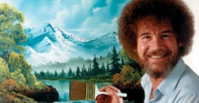 bob ross ile resim sevinci