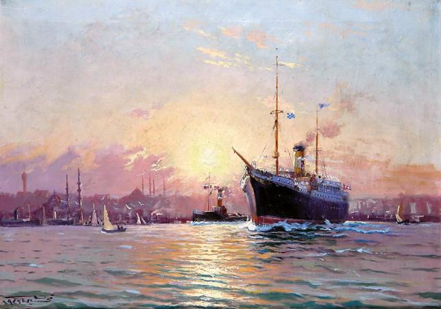 Diyarbakırlı Tahsin, İstanbul Limanında