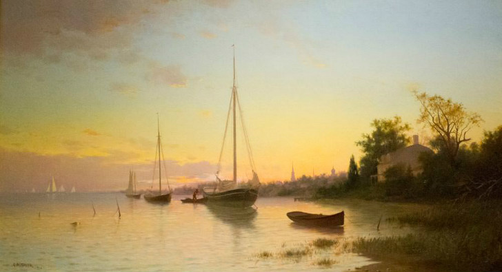 Francis Augustus Silva, Evening, 1881