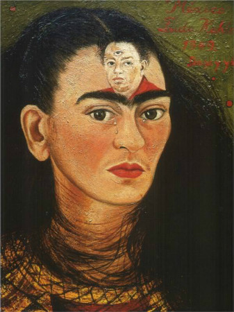 frida kahlo - diego and i