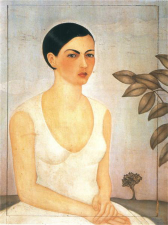 frida kahlo - portrait of cristina my sister