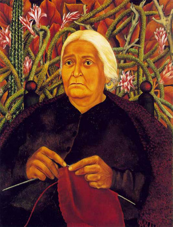 frida kahlo - portrait of dona rosita morill