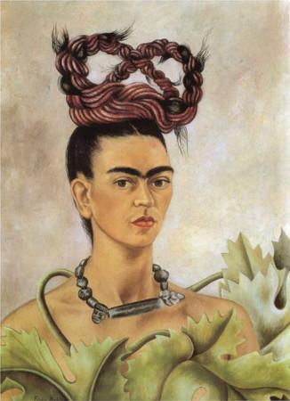 frida kahlo - sac orgulu otoportre