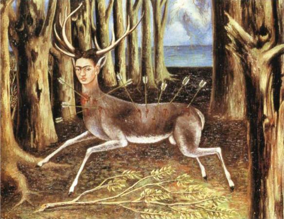 frida kahlo - yarali geyik