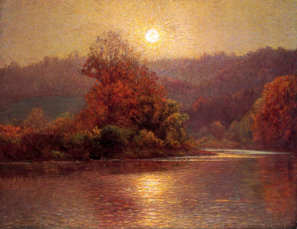 John Ottis Adams, The Closing Of An Autumn Day, 1901
