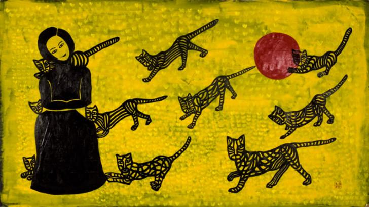 selma gurbuz - kedili doga
