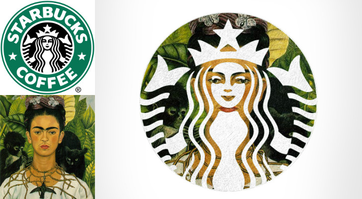 starbucks frida kahlo