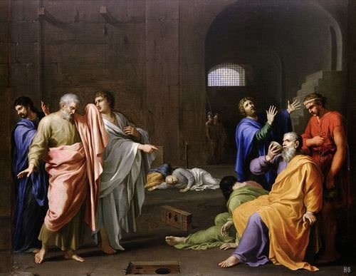 Charles Alphonse Dufresnoy - The Death of Socrates