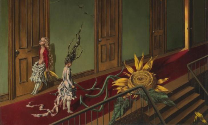 Dorothea Tanning,Eine Kleine Nachtmusik, 1943