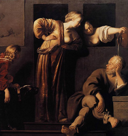 Socrates, His Wives and Alcibiades