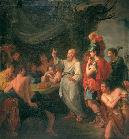 Socrates Teaching Pericles
