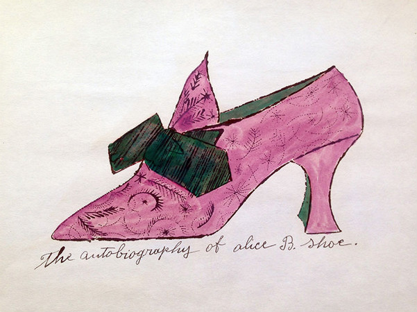 andy warhol - autobiography of alice b shoe