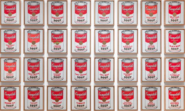 andy warhol - campbells soup