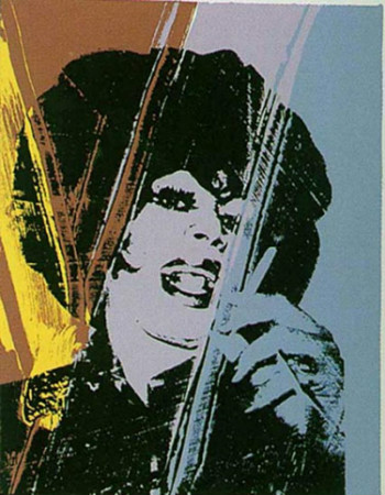 andy warhol - drag queen