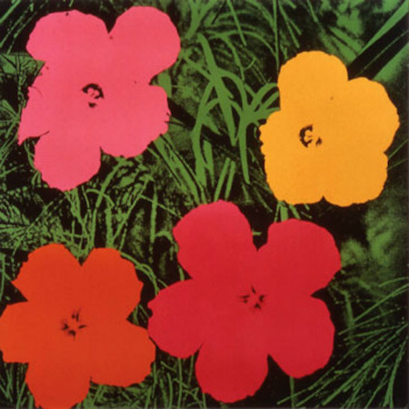 andy warhol - flowers
