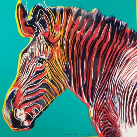 andy warhol - grevys zebra