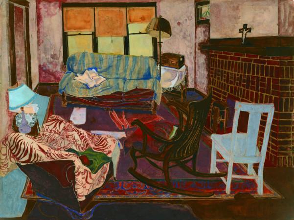 andy warhol - living room