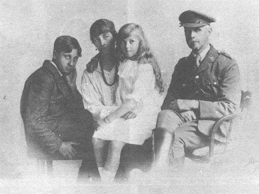 george orwell ailesi