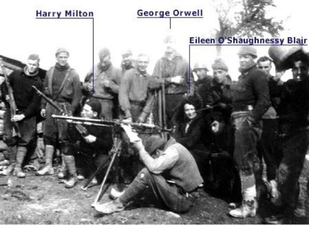 george orwell savasta