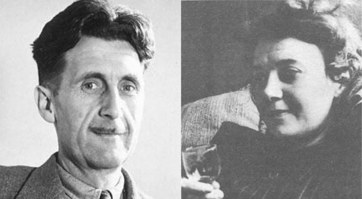 george orwell ve ilk esi