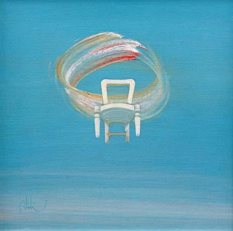 abidin dino - gokyuzunde sandalye