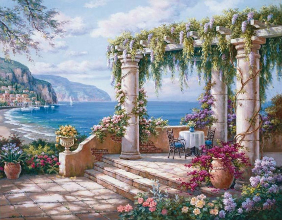 floral patio 2