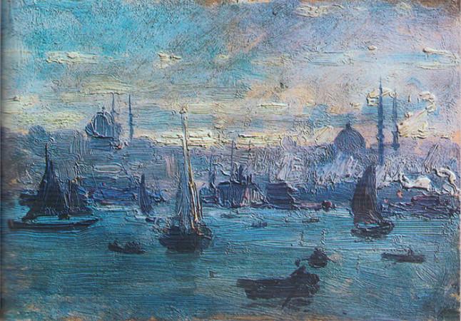 nazmi ziya - istanbul limani
