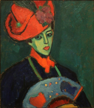 Alexej von Jawlensky - schokko with red hat