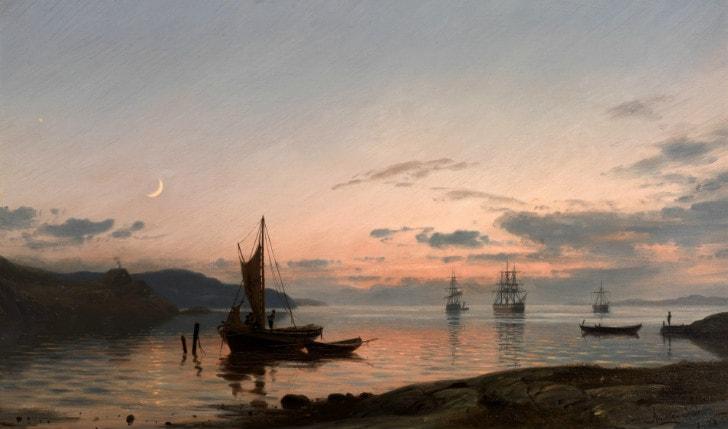 Amaldus Clarin Nielsen, Aftenstemning, 1878