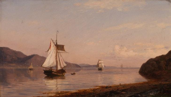 Amaldus Clarin Nielsen, Bommelfjorden, 1878