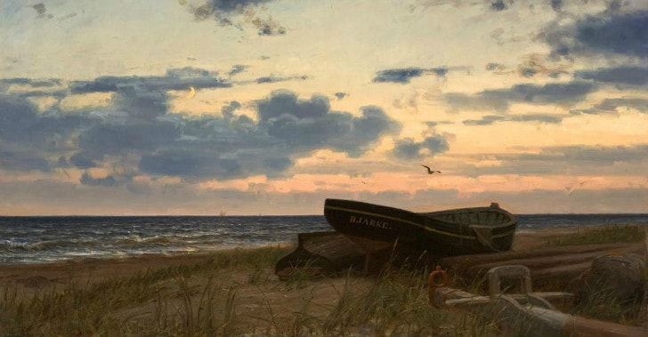 Amaldus Clarin Nielsen, By The Sea, 1906