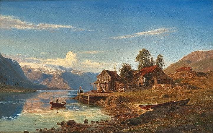 Amaldus Clarin Nielsen, Fra Rognaldsvag i Kinn, 1867