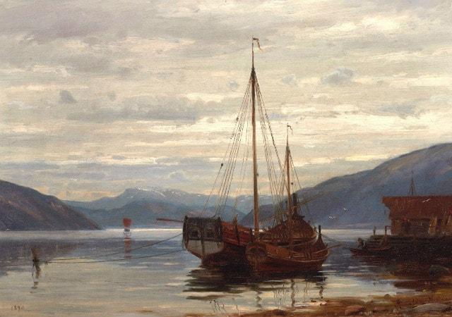 Amaldus Clarin Nielsen, Parti Fra Balestrand, 1890