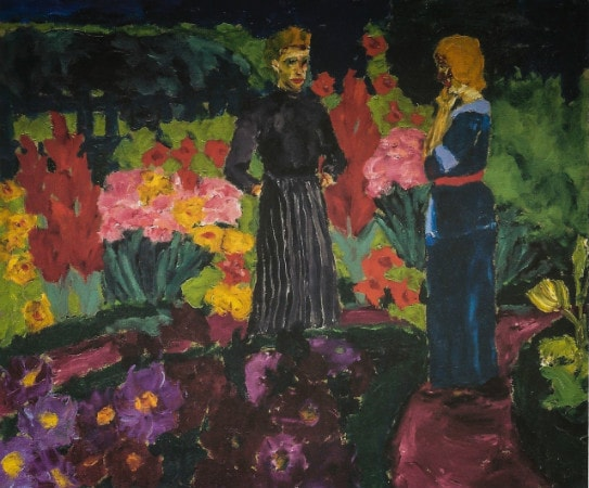 Emil Nolde - Two Women in a garden