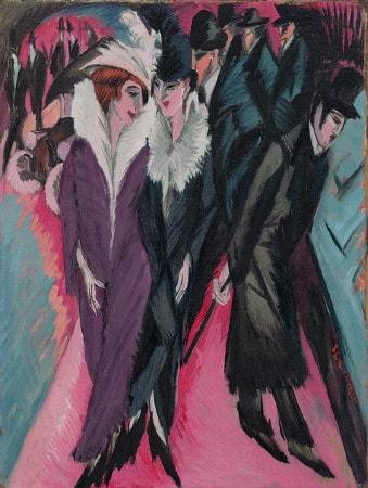 Ernst Ludwig Kirchner - Street