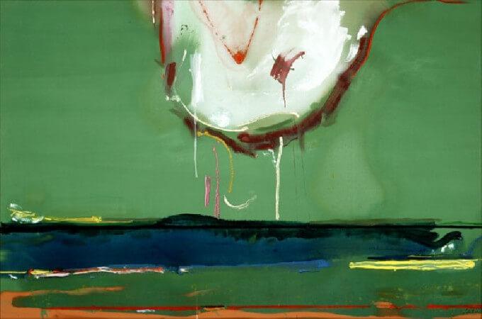 Helen Frankenthaler, High Spirits, 1988