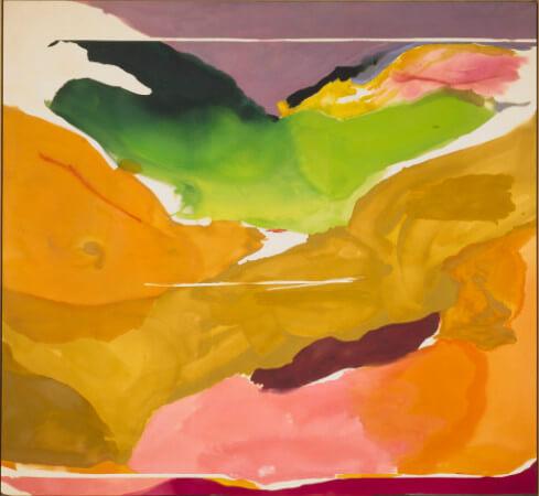 Helen Frankenthaler, Nature Abhors A Vacuum, 1973