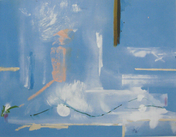 Helen Frankenthaler, Scarlatti, 1987